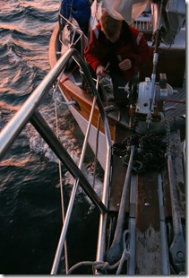Paul Securing the Anchor
