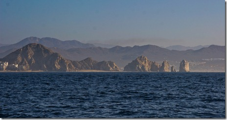 Rocks Off the Point Approaching Cabo San Lucas