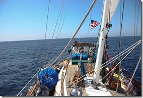 Sailing Near Cabo San Lucas