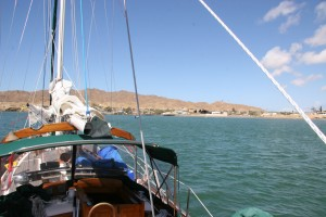 Anchored in Bahia de Tortugas